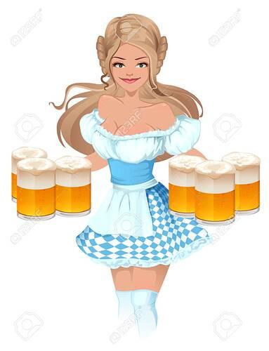 61886268-fête-de-la-bière-oktoberfest-fille-serveuse-allemande-tenant-tasses-de-bière-isolé-sur-blanc-illustration-ve